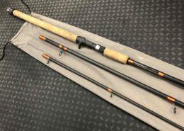 Custom Built Frontier STR1803-S - 15' - 3pc - 1/4 to 5/8oz Lure Rating - 8 to 14lb Line Rating - Steelhead Baitcast Rod with twist c/w Sock - LIKE NEW! - $150