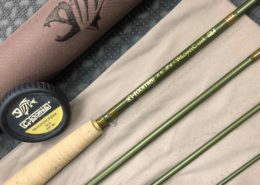 "G. Loomis GLX 8' 6"" 4wt 4pc Whispercreek Fly Rod - FR1024-4 GLX - LIKE NEW! - $340"