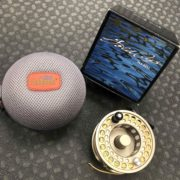 Gold Cup IV Spey Reel - Goldstone c/w Bill Drury 9/10 Spey Line & Fishpond Kodiak Large Reel Case - LIKE NEW! - $155