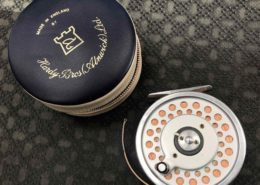 Hardy Marquis 8/9 Multiplier c/w Vinyl Pouch & Scientific Anglers WF7F Fly Line - EXCELLENT CONDITION! - $185