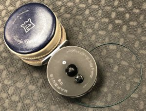 Hardy Marquis #6 Made in England c/w Vinyl Case & Cortland 444 WF6FS Sink Tip Fly Line - EXCELLENT CONDITION - $150