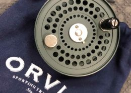 Orvis CFO IV Disc Saltwater Fly Reel - Made in England - GOOD SHAPE! - $200