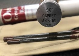 Orvis Osprey Graphite Fly Rod 9 1/2' 6wt 3pc c/w Original Sock & Tube - GREAT SHAPE! - $250