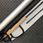 "Orvis ""Silver Label"" Tip Flex Graphite 2pc Fly Rod - 9' 7wt c/w Sock & Aluminum Tube - ECELLENT CONDITION! - $175"