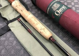 "Orvis Trident 7' 2"" 7wt 2pc Full Flex Fly Rod - GOOD SHAPE! - $125"