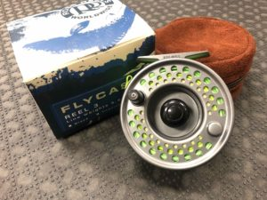 Ross Flycast Fly Reel #3 - Titanium c/w Cortland WF910 Fly Line - LIKE NEW! - $200