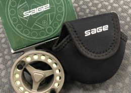 Sage 1850 Fly Reel & Scientific Anglers WF7FS Wet Tip III Fly Line - EXCELLENT CONDITION! - $145