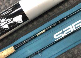 Sage Graphite IV SP 590 - 9' 5wt 2pc Fly Rod c/w Sock & Aluminum Tube - $200