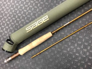 Sage Launch - 586-2 - 8 1/2' 5wt 2pc Fly Rod & Tube - MINT CONDITION! - $200
