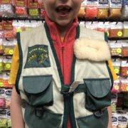 Salmo Sulur Childs Fishing Vest - GREAT SHAPE! - $25