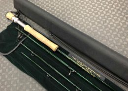 TFO Temple Fork Outfitters Fly Rod - Lefty Kreh Signature Series - 10' 8wt 4pc c/w Rod Sock & Tube - LIKE NEW! - $150