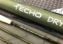 SOLD! - Echo Dry Fly Rod - 590-4 - 9' 5wt 4pc - BRAND NEW! - $125