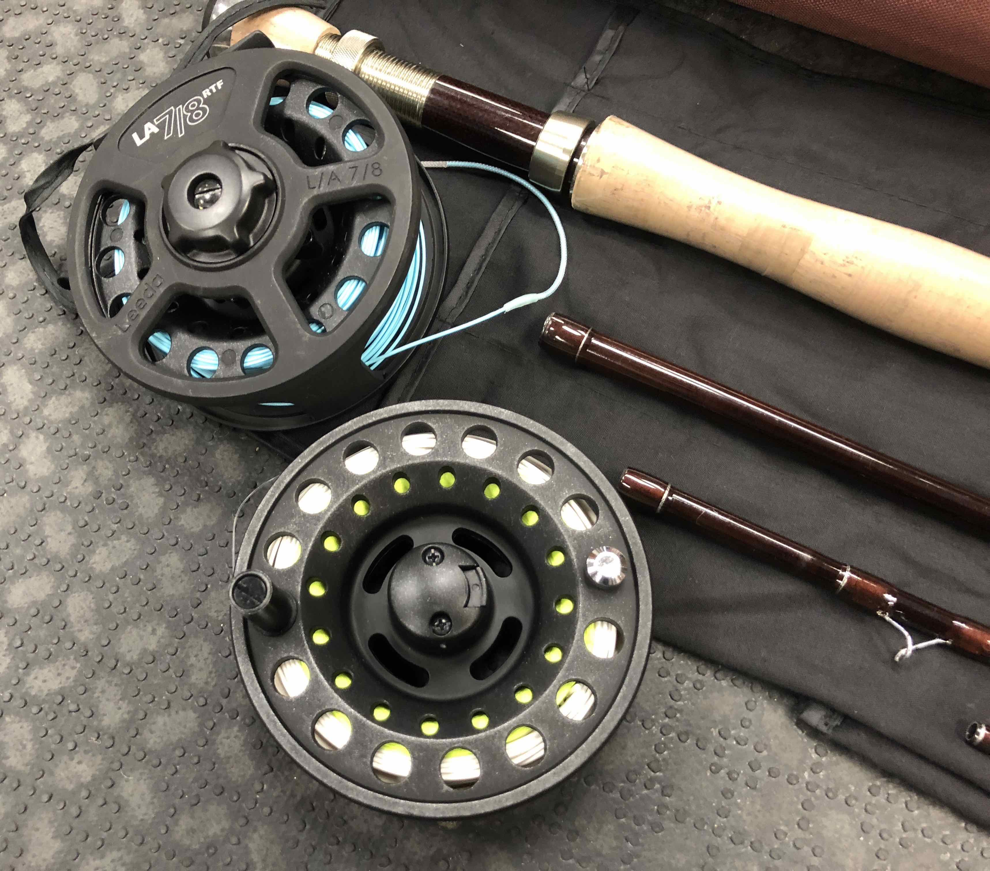Flextec CDX 66 Series Fly Rod - 4pc 10' 7/8Wt c/w Flextec Large Arbour Fly Reel, Spare Spool & Fly Line - LIKE NEW! - $100