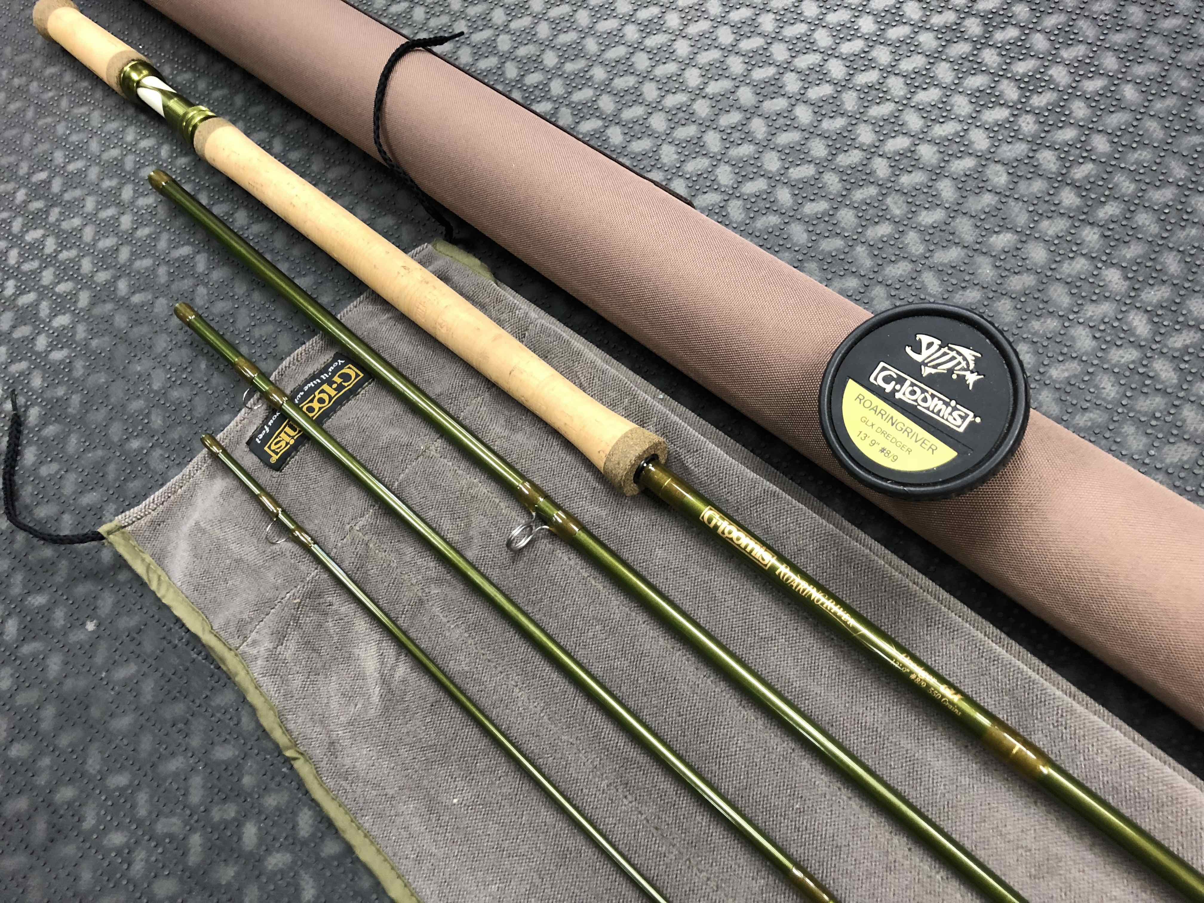 "G. Loomis Roaring River GLX Dredger 13' 9"" #8/9 4pc Spey Rod - LIKE NEW! - $450"