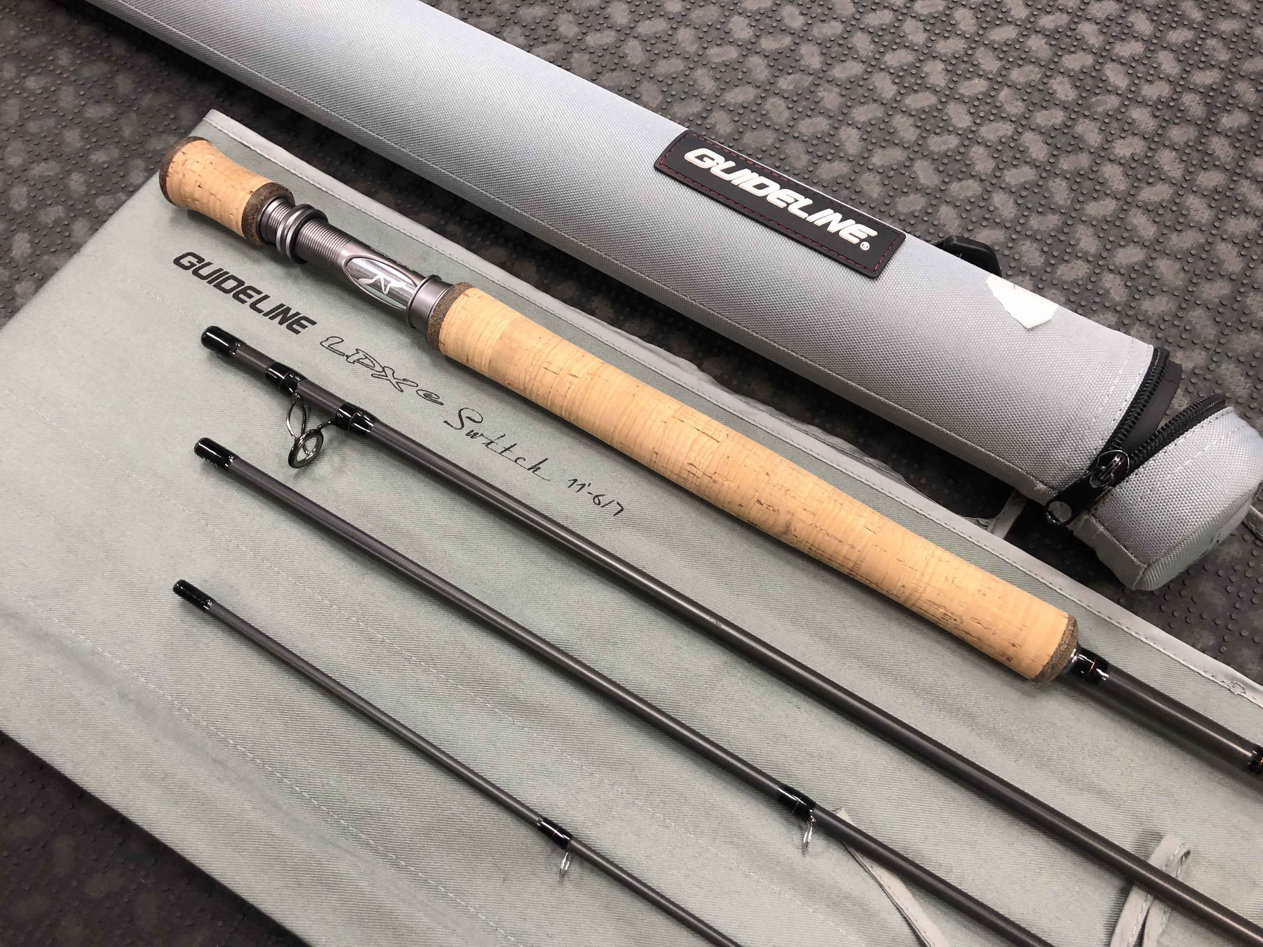 Guideline LPXe Switch Rod - 11' 6/7 Wt 4Pc - LIKE NEW! - $300