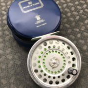 Hardy Marquis Fly Reel - Made in England - Salmon No.1 c/w Backing - GOOD SHAPE! - $150