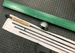 "Orvis Green Mountian Rocky Mountian Series Fly Rod - 6Wt 8' 6"" Pc Fly Rod c/w Tube - GOOD SHAPE! - $100"