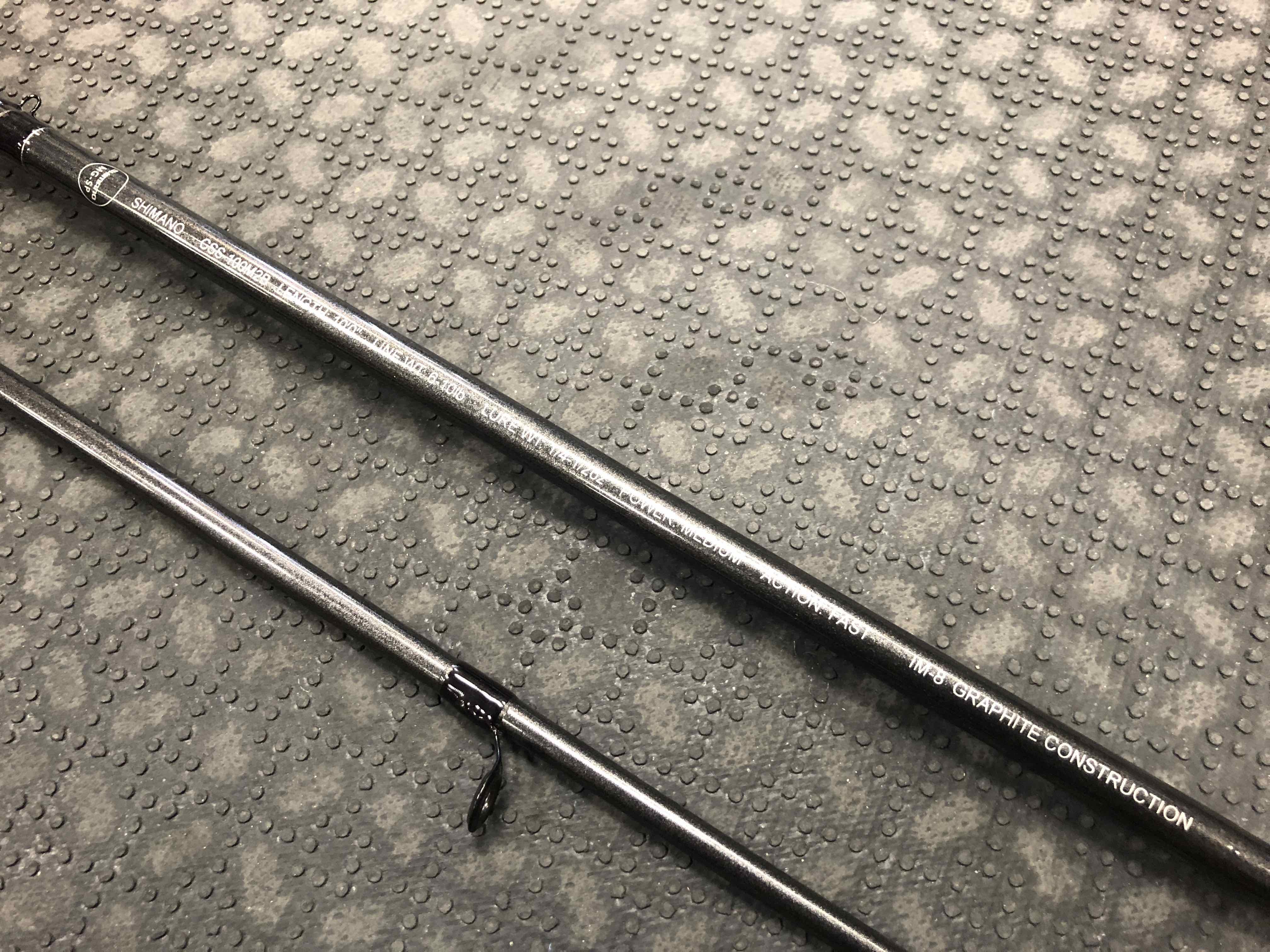 Shimano Clarus - CSS100-M2B - 10' 2Pc Spinning Rod - GREAT SHAPE! - $80