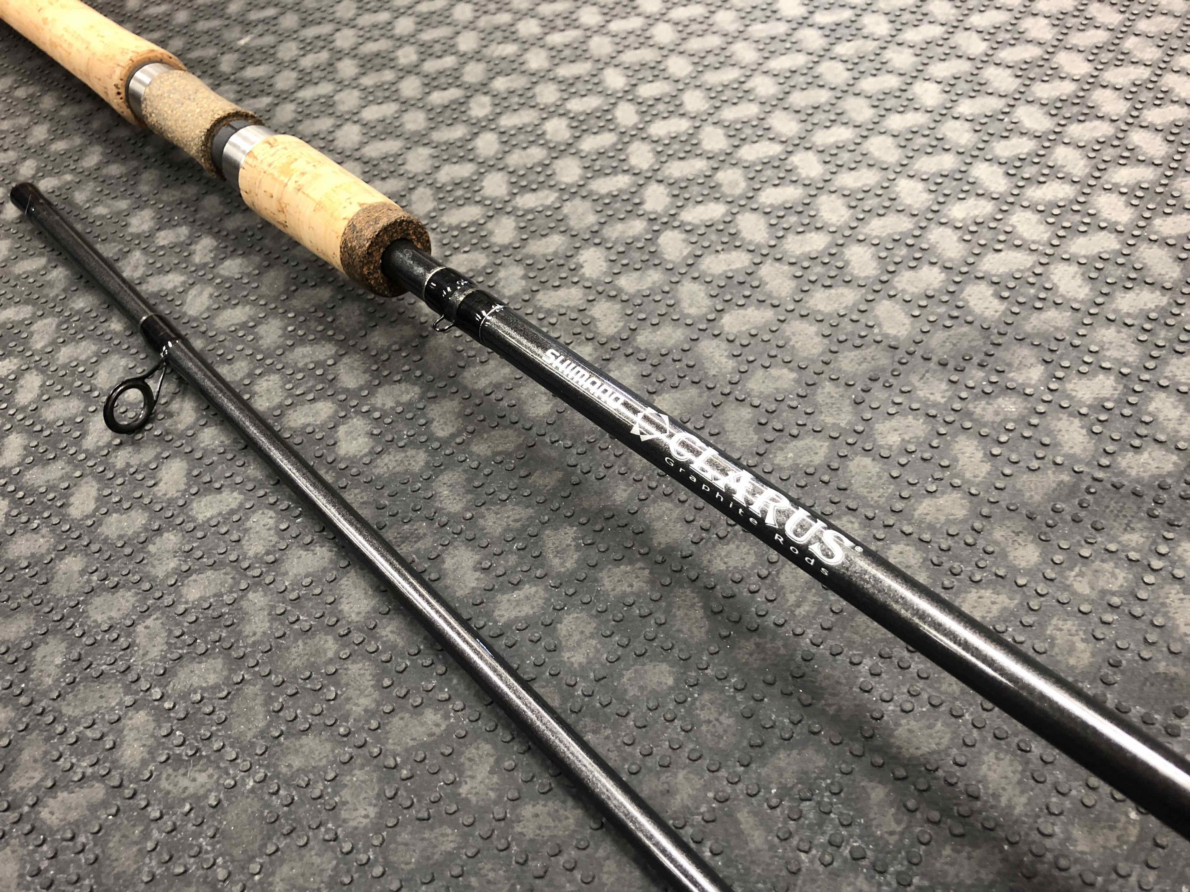 Shimano Clarus - CSS90-H2B Spinning Rod - 2Pc - LIKE NEW! - $70