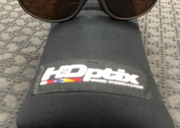 H2Optics Bolle Polarized Sunglasses - Amber Poly-Carbonate Lenses - GREAT SHAPE! - $50