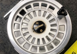 Ryobi 455 - Ryobi Ltd Japan Fishing Tackle Division Click & Pawl Fly Reel - GOOD SHAPE! - $30