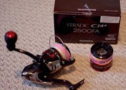 SOLD! - Shimano Stradic CI4+ 2500FA & Spare Spool - LIKE NEW! - $180
