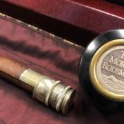 "Tom Morgan - Custom Built 7' 9"" - 3wt Med Action - 2pc Graphite Fly Rod c/w Tube, Cover & Silver Medallion - GREAT SHAPE! - $550"
