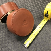Hardy Fly Reel - Leather Reel Case - NEW! - $45 ( Four of Four )
