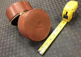 Hardy Fly Reel - Leather Reel Case - NEW! - $45