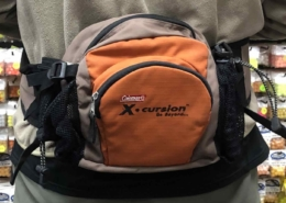 Coleman X-Cursion Fishing Waist Pack - GOOD SHAPE! - $20