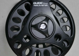 Guideline Reelmaster Salmon mid arbour fly reel in excellent shape. $80.00