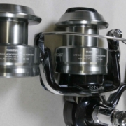 Shimano Spheros SP5000SW 5000 size spinning reel with 6000 size spare spool. $170.00