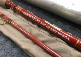 Vintage Phillipson Royal - 9' - 10wt - RF90HT G2AF 10 - Made in the USA - 2Pc - Fiberglass Fly Rod - GREAT SHAPE! - $125