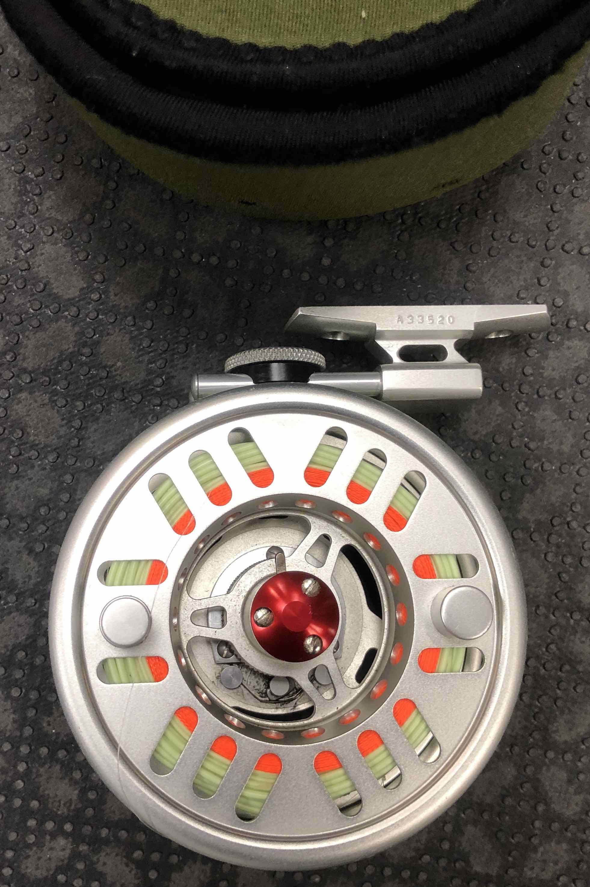 NEW PRICE - Hardy Limited Edition 975 SE - Swift Fly Reel - c/w WF8 Fly Line - GREAT SHAPE! - WAS $300 - NOW $250