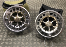 Hardy Ultralite 9000DD Spey Sized Fly Reel - c/w Spare Spool - GREAT SHAPE! - $300