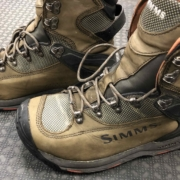 Simms G3 Guide Wading Vibram Boot - Size 11 - GOOD SHAPE! - $75
