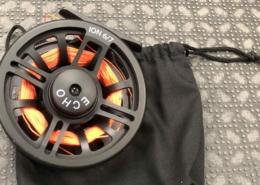 Echo Ion 6/7 Fly Reel c/c Backing & Bag - GREAT SHAPE! - $50
