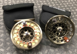 SOLD! - G. Loomis East Fork Fly Reel & Spare Spool c/w Line & Backing - GREAT SHAPE! - $55