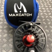 Maxcatch Avid Fly Reel 5/6 - LIKE NEW! - $45