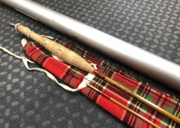 """Orvis """"Fly Weight"""" Bamboo Cane Rod - 1976 Cane Blank Kit - 2 Pc - 7' - 4Wt- LIKE NEW! - $350"""