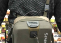 Simms Waypoints Hip Pack - Large - Army Green - GREAT SHAPE! - $80