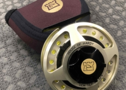 House of Hardy - Gem Series Fly Reel - Size 5/6 - C/W A Scientific Anglers WF5F Fly Line - GREAT SHAPE! - $150