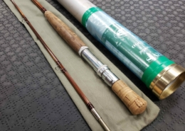 """Orvis Bamboo Fly Rod - 2Pc - 8' 9"""" - 10Wt - GREAT SHAPE!"""