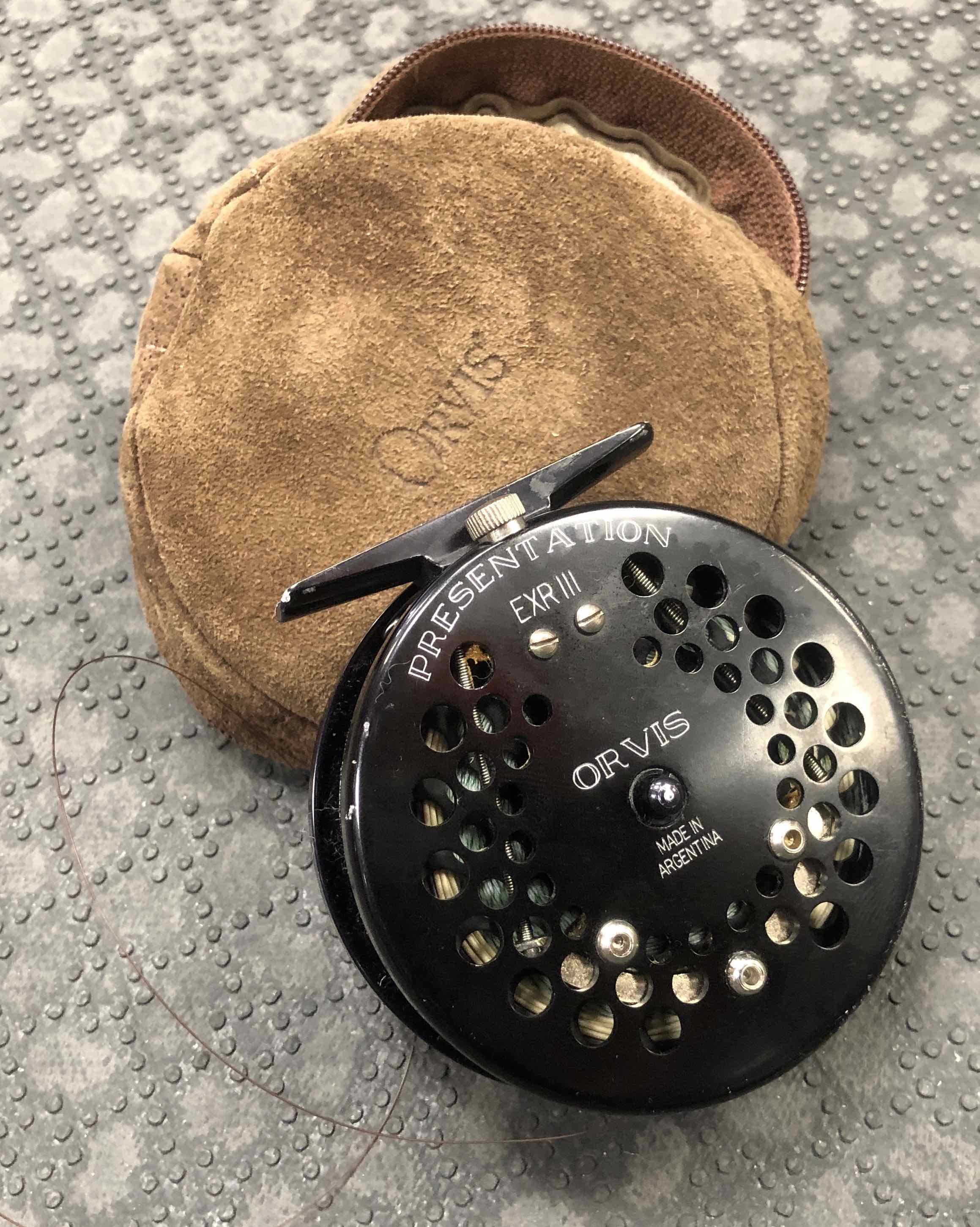 Orvis Presentation Fly Reel - EXR III - Made in Argentina - C/W A RIO Sinking Fly Line - GREAT SHAPE - $150