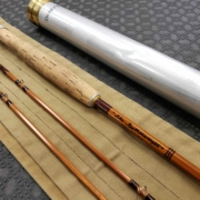 "Sharpe Aberdeen Bamboo Fly Rod - ""The Featherweight"" - 2Pc - 7 1/2' - 5WT- GREAT SHAPE!"