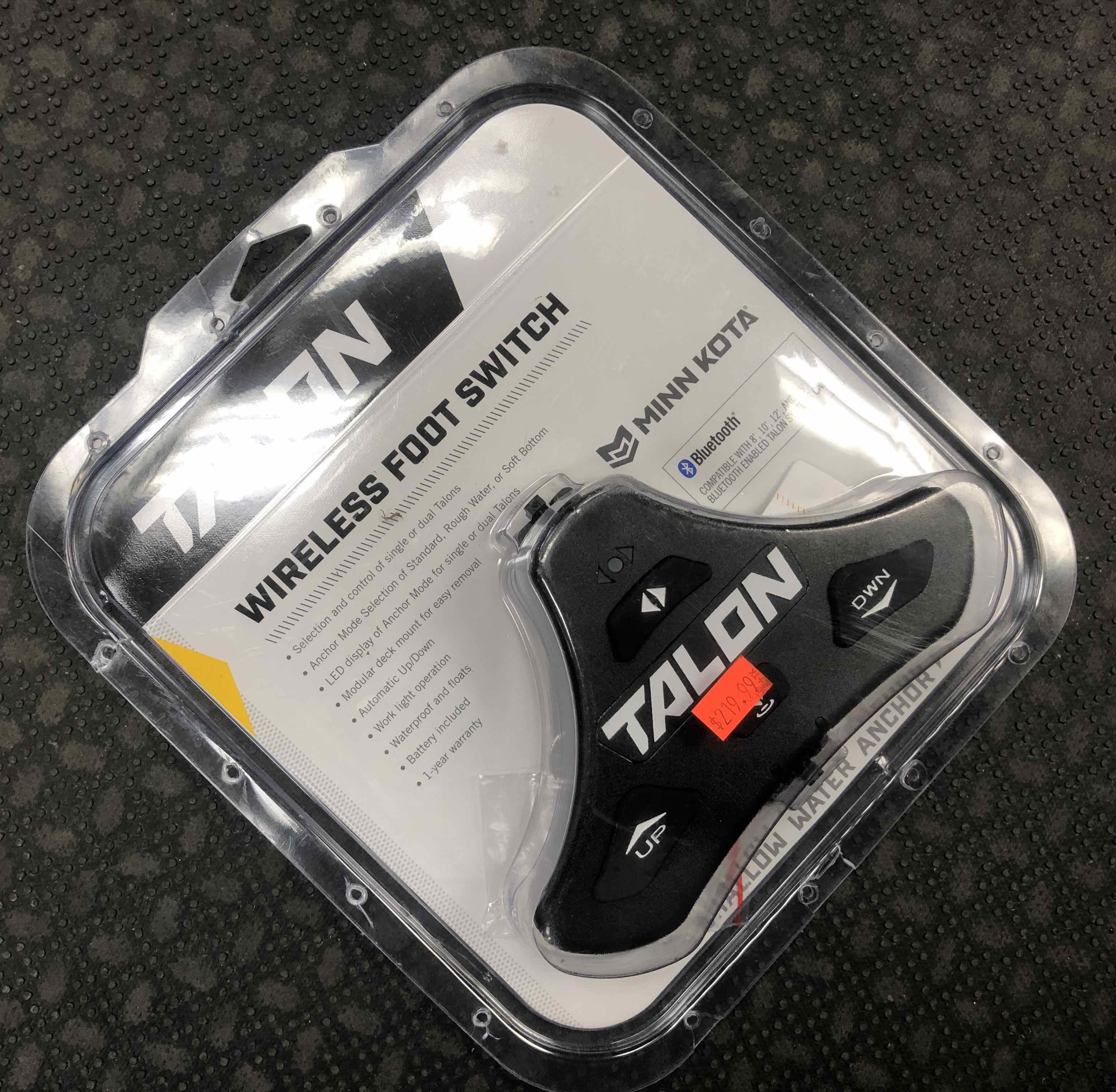 Johnson Outdoors - MinnKota Talon Wireless Foot Switch - NEW